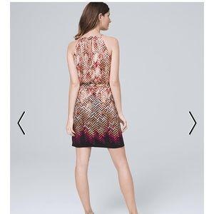 WhiteHouse/BlackMarket Chevron Dress XXS Neww/Tags
